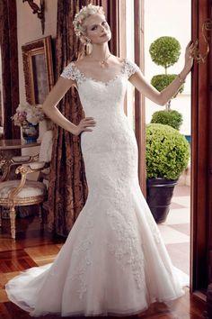 Casablanca Bridal - Style: 2192, Size: 12, Color: Ivory