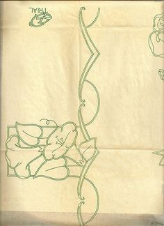 flower edging-morning glory maybe? Cutwork Embroidery, Embroidery Stitches, Embroidery Patterns, Types Of Hands, Cut Work, Angles, Flowers, Ebay, Vintage