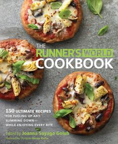Recipes (some even are vegetarian and vegan!) tailored to runners. This is super helpful, since I find myself having a hard time striking a good balance with what to eat, how much to eat, and how much I want to/am running. It seems like a good resource, and the website has a few recipes up for free.
