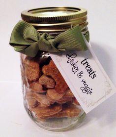 Gourmet Dog Treat of The Month Club!  - Mason Jar - homemade, healthy & no preservatives