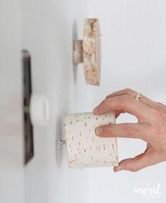 DIY Birch Hooks | Inspired by Charm