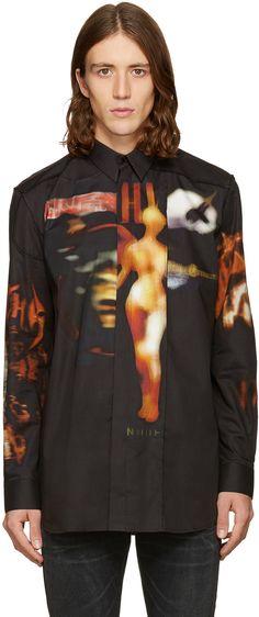 Givenchy - Black Heavy Metal Shirt