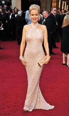 Penelope Ann Miller (love The Artist!) in Badgley Mischka #oscars