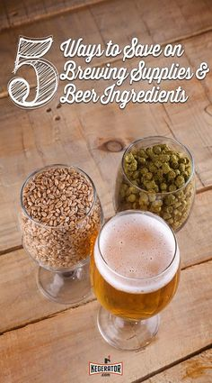 The next time you head to your local homebrew shop or browse online to stock up on ingredients, try to take advantage of one or two of these money saving tips.