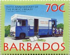 Barbados issued this stamp in 1972 as part of International Book Year.