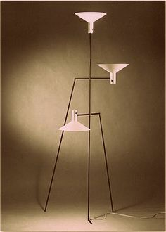Alvi Lustig - Custom Standing Light for Edgardo Contini 1949