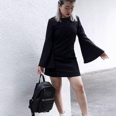 Too cool for school // HELL BREAKS LOOSE DRESS