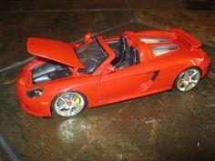 Jada BigTime Kustoms 2005 Porsche Carrera GT 1:24 scale diecast model Red J15 #Jada #Porsche