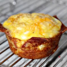 bacon egg and cheese bites - ready in minutes - gone in seconds
