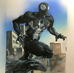 Black Spider-Man