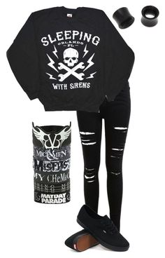 deja vu//sleeping with sirens by bands-are-my-savior on Polyvore featuring polyvore, fashion, style, Miss Selfridge, Vans, NOVICA, women's clothing, women's fashion, women, female, woman, misses and juniors