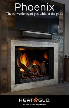 Newest Screen black Brick Fireplace Ideas Often it will pay to help bypass the renovate! In lieu of extracting a good dated brick fireplace , reduce costs whilst Black Brick Fireplace, Indoor Gas Fireplace, Direct Vent Gas Fireplace, Linear Fireplace, Wood Fireplace, Gas Fireplaces, Fireplace Ideas, Brick Interior, Family Dining Rooms