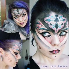Makeup artist is Linki Lutz Facebook:Linki Lutz Makeup Youtube: Linki Lutz Twitter: LinkiMakeup Plz give credit to the artist and don't take away their names.