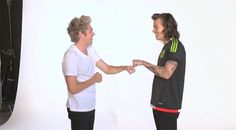 GIF. Niall & Harry for Coca-Cola // Mexico - (by: @KRF1D)