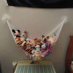DIY toy hammock