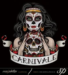 This is a logo I designed for Carnivale. www.samphillips.co.nz