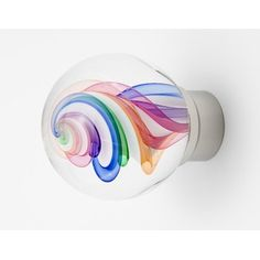 Out of the Blue Design Studio Art Glass Cabinet Knob