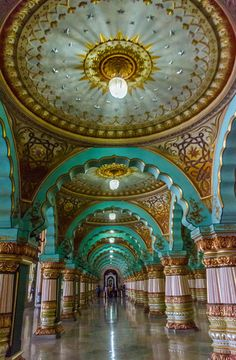 Mysore Palace by Shankho Banerjee on Mysore Palace, Palace Interior, Hindu Culture, Indian Interiors, Quirky Decor, Palace Of Versailles, Indian Architecture, Architectural Photographers, North India