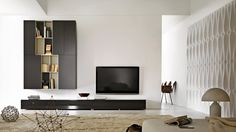 Multimedia bookshelves and playrooms on pinterest for Meubles molteni