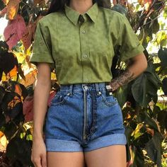 Retro Outfits, Cute Casual Outfits, Summer Outfits, Girls Fashion Clothes, 90s Fashion, Fashion Outfits, Character Outfits, Aesthetic Clothes, My Style