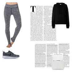 """""""lazy#2"""" by tanttu-haapop on Polyvore featuring Electric Yoga, IRO, NIKE and Mansur Gavriel"""