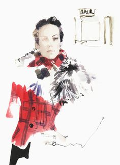 Chanel Métiers d'Art 2013 collection, Lady Amanda Harlech by David Downtown