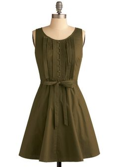 Olive Branch Dress from Modcloth