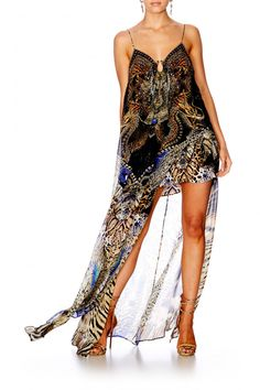97e07412f0a Camilla Dragon Lady U Ring Long Dress