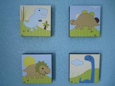 Adorable Dinos, custom canvas prints