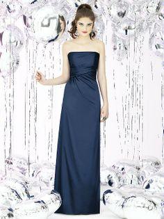 Social Bridesmaids Style 8122 http://www.dessy.com/dresses/bridesmaid/8122/?color=midnight&colorid=47#.UkH2URZASFI