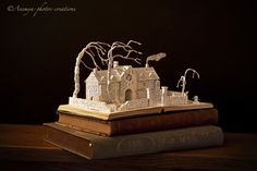 Wuthering Heights book sculpture... by AnemyaPhotoCreations.deviantart.com on @deviantART