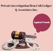 Colt Ledger and Associates Inc. give examination administrations to any or all reasonably extortion, trick and criminal exercises. we provide a whole criminal examination that Incorporate wanting, interviews, cross examinations, proof accumulation and safeguarding and totally different methods for examination.