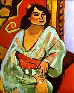 Matisse, Henri (1869-1954) - 1909 The Algerian Woman