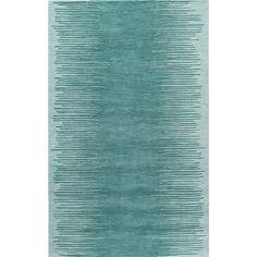 Momeni Cosmopolitan Vibe Aqua Hand-tufted Wool Rug x (Aqua Rug), Blue, Size x Aqua Rug, Aqua Area Rug, Blue Rugs, Contemporary Area Rugs, Modern Area Rugs, Contemporary Style, Target Rug, Transitional Area Rugs, Visual Texture