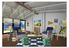 Check out this moodboard created on @Cheryl Brogan: fun porch by carimurphy