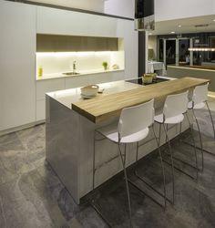 diseño #cocinas #linea Glass  #hogar2000logos #moderna #exhibición Quito