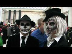 British Museum Day of the Dead Celebration 2009 Youtube