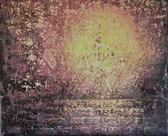 """Den hellige portalen"" Akryl på lerret - 38 x 45 cm"