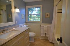 Fresh, updated bathroom