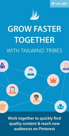 """See why some bloggers calling Tribes a """"gamechanger"""" and saying this is the best thing to happen to them in ages! Tailwind Tribes - Work Faster, Grow Faster Together on Pinterest. #pinterestmarketing #pinteresttips #pinterestmarketingtips #pinteresttools #pinterestmarketingtools #findyourtribe via @tailwind"""