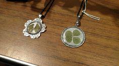 Four leaf clover pendants for sale! #fourleafclover #pendant #necklace #jewelry #irish #luck #celtic