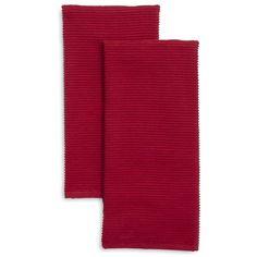 Ribbed Kitchen Towels, Set of 2 | Sur La Table