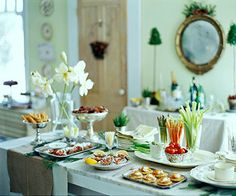 Don't forget the appetizers! Make your buffet table the focal point of your holiday party: http://www.bhg.com/holidays/new-years/recipes/new-years-cocktail-party/?socsrc=bhgpin121413appetizers&page=2