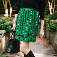 Garden Glimmer Skirt #Anthropologie #MyAnthroPhoto