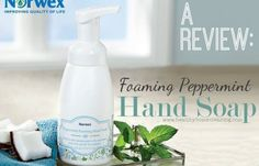 Norwex Peppermint Foaming Hand Soap – Review