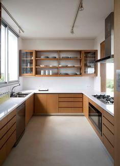 Kitchen Room Design, Kitchen Cabinet Design, Modern Kitchen Design, Home Decor Kitchen, Interior Design Kitchen, Home Kitchens, Kitchen Furniture, Kitchen Modular, Pantry Design