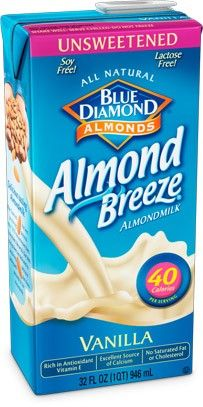 Almond milk.  It's a new food for us, but now a staple. You can make it on your own.   low gylcemic index, high in calcium