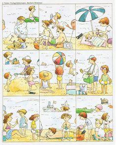 Puzzle linéaire de la plage