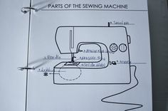 teaching kids to sew lesson plans and printables. love how easily explained everything is