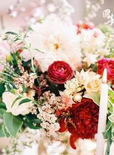 Photography: Marissa Lambert Photography - undefined Floral Design: Kim Starr Wise - undefined   Read More on SMP: /2015/11/01/organic-red-new-orleans-wedding-inspiration/